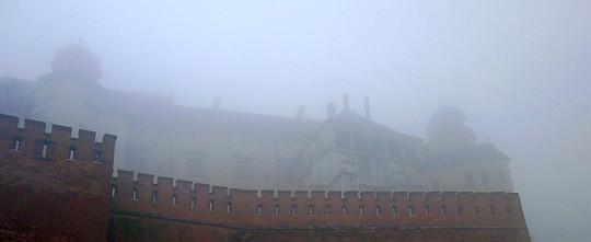 Wschodnie skrzydło Zamku Królewskiego na Wawelu.