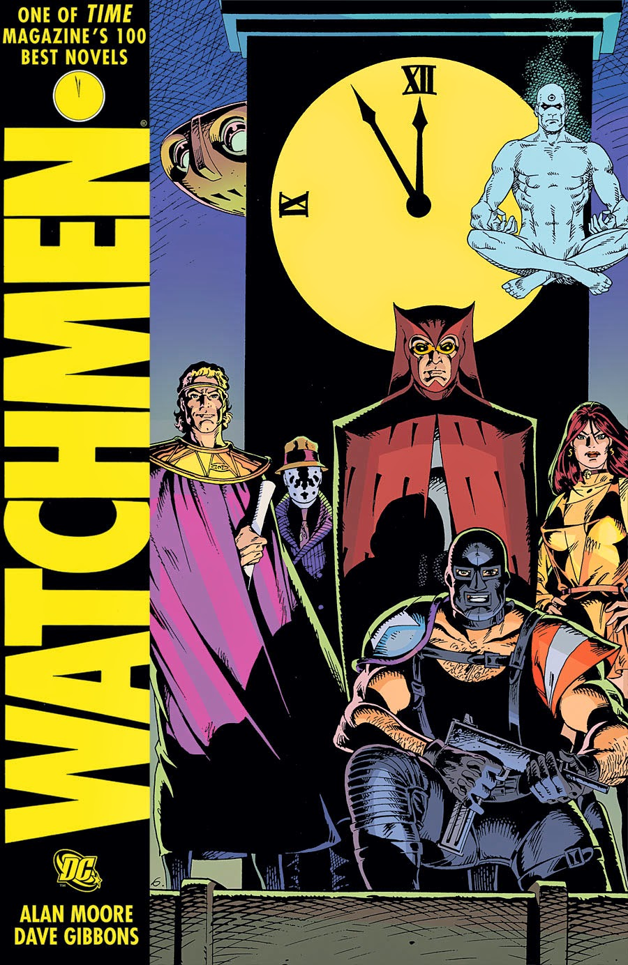 Watchmen de Alan Moore y Dave Gibbons