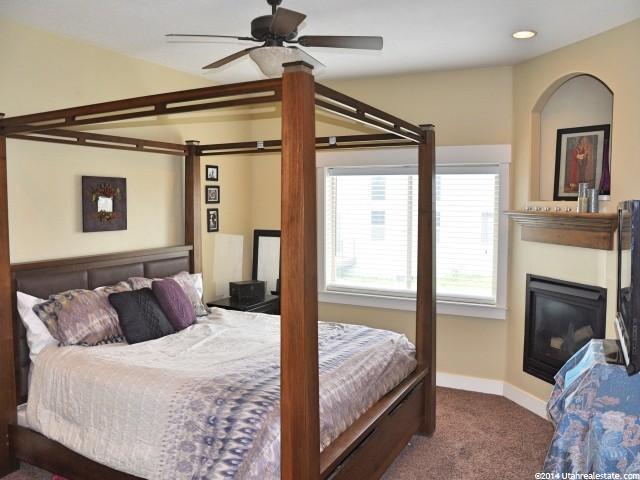 Master bedroom remodel before photo from www.jengallacher.com. #masterbedroom #bedroommakeover #yellowbedroom