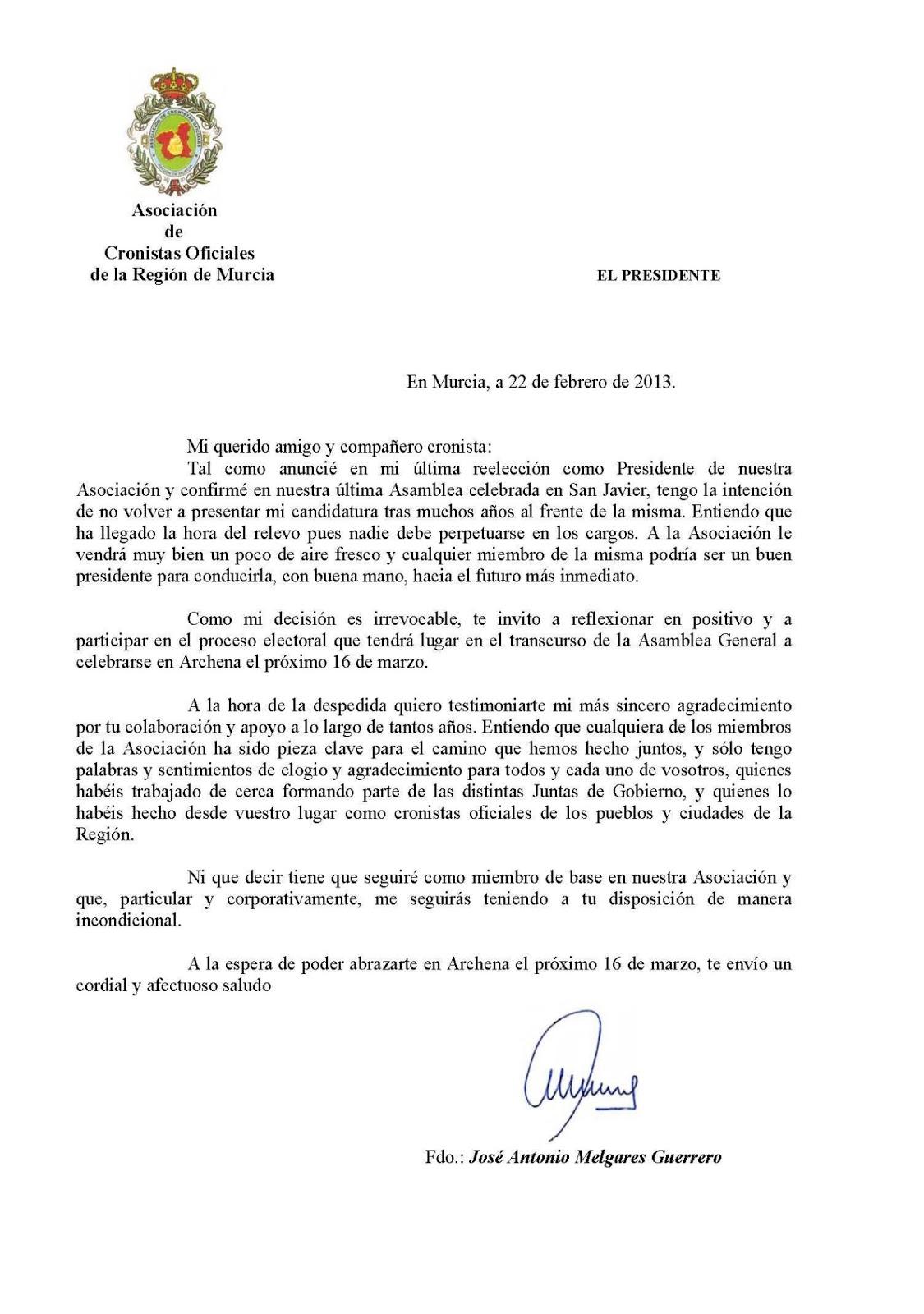 Carta De Despedida De Jandro  carta de despedida de