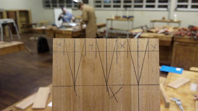 encaixe madeira malhete rabo de andorinha