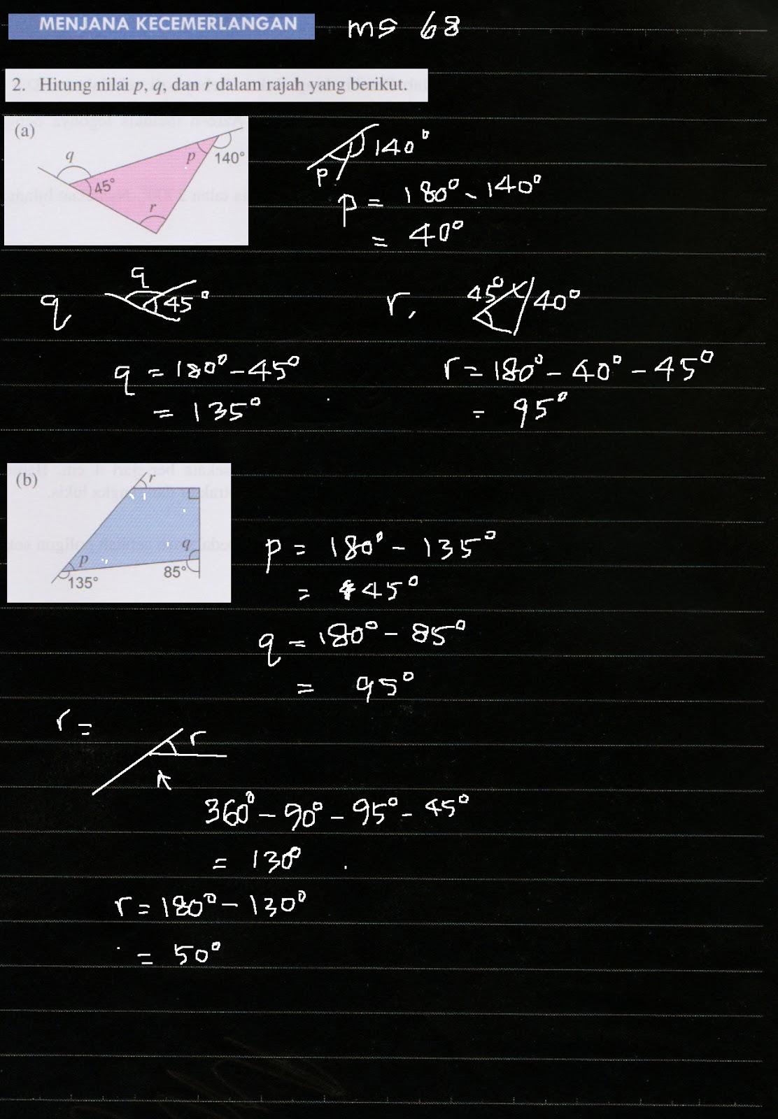 Cikgu Azman Bukit Jalil Bab 4 Poligon Matematik Tingkatan 2 Menjana Kecemerlangan