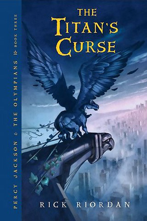 The Titan's Curse book cover