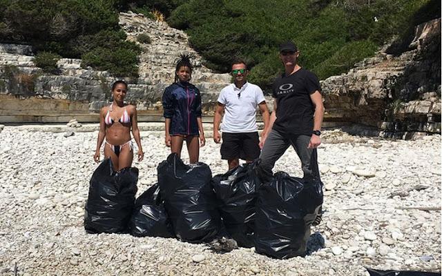 Ο δήμαρχος Παξών απαντά στην κόρη του Γουίλ Σμιθ: «Πού βρήκε 22 σακούλες σκουπίδια;»