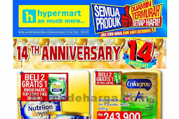 Katalog Promo Hypermart Akhir Bulan 19 April - 1 Mei 2018