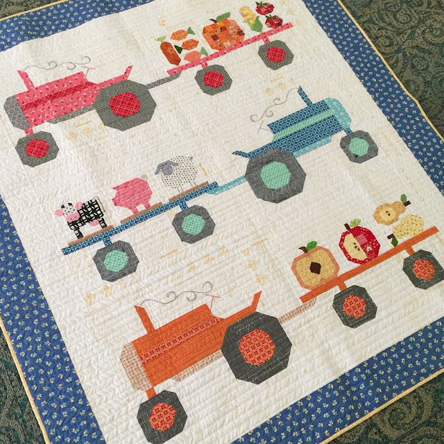 Tractor Sewing Pattern : Bee in my bonnet farm girl friday vintage