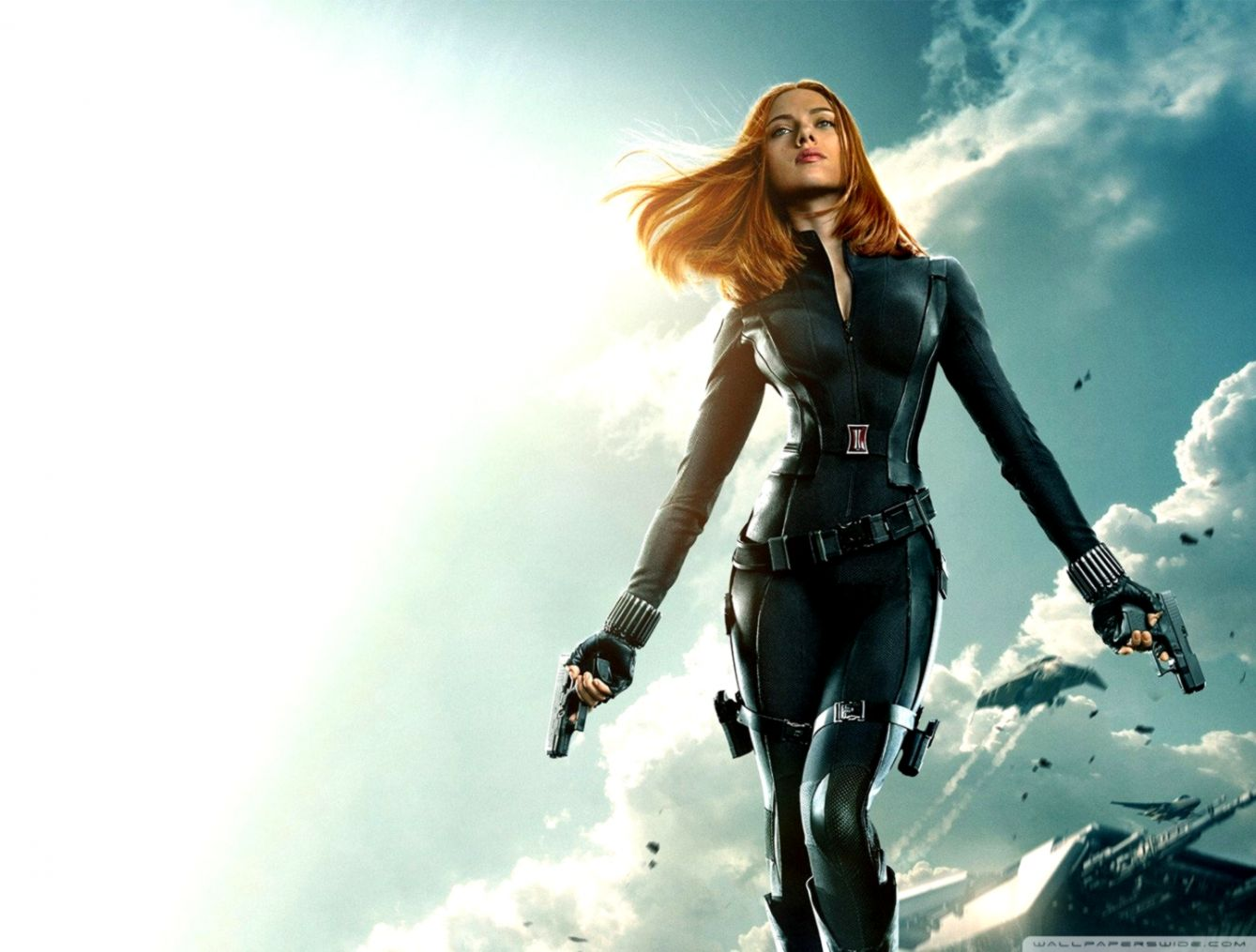 Captain America The Winter Soldier Black Widow Wallpapers