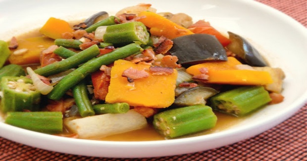 Pinakbet With Bacon Recipe