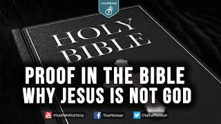 Yeshua (Jesus) is not God