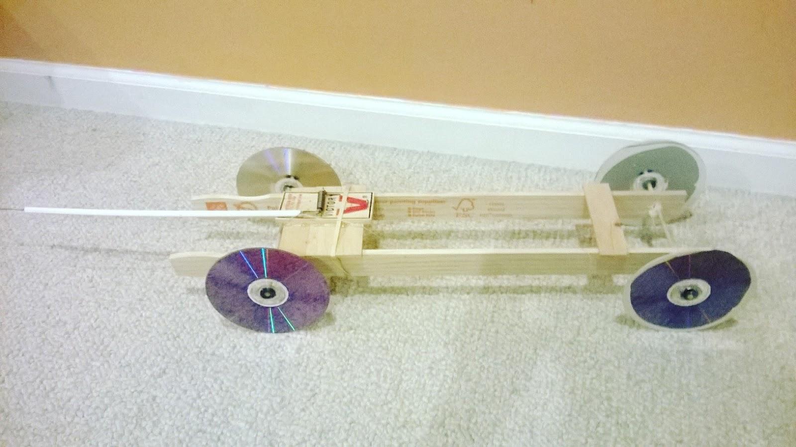 My Mousetrap Car Physics