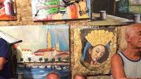 Izložba u Mutnim kalama - Mirca slike otok Brač Online
