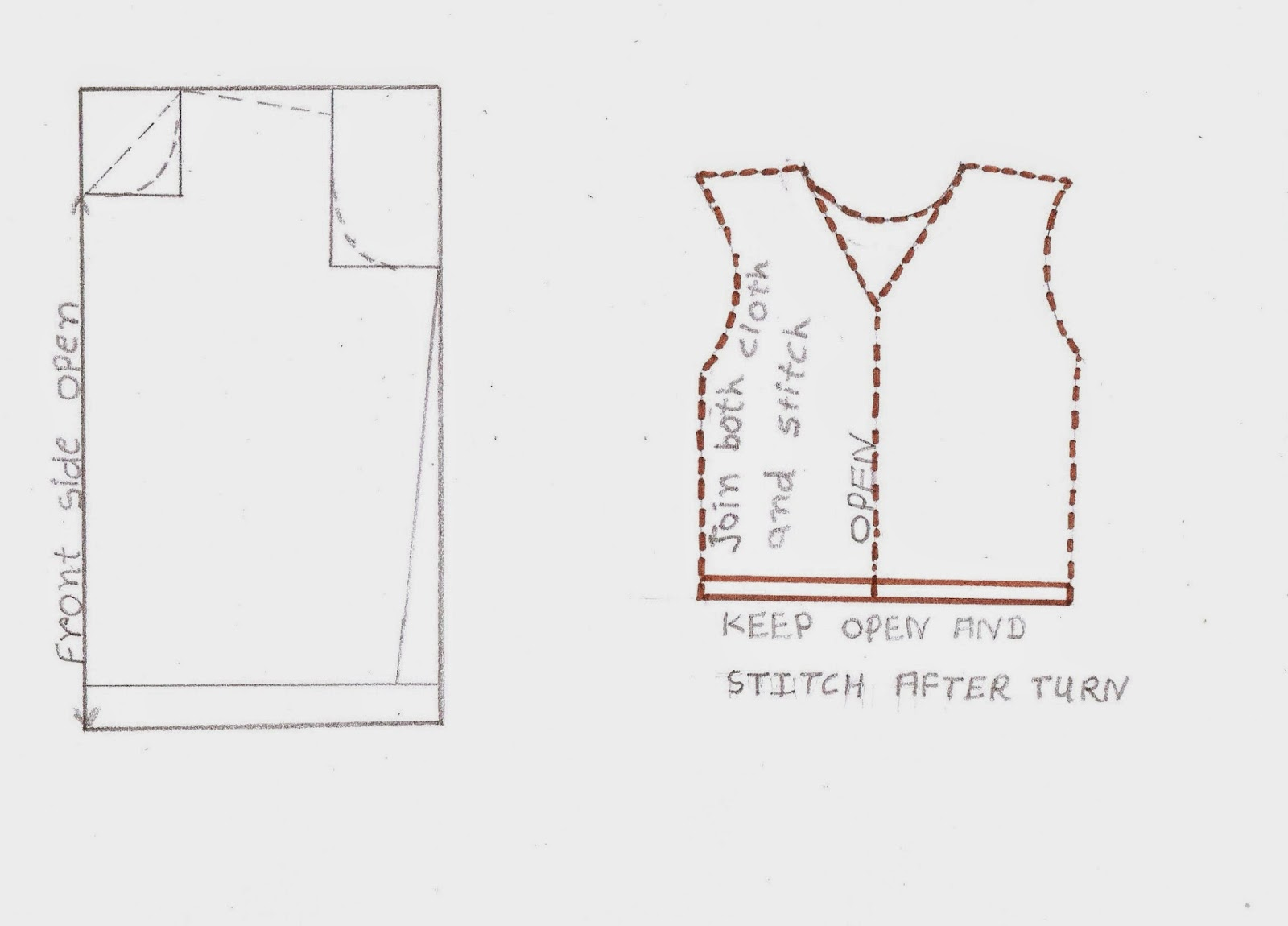 Easy2stitch Cutting And Stitching Of Simple Jacket Of