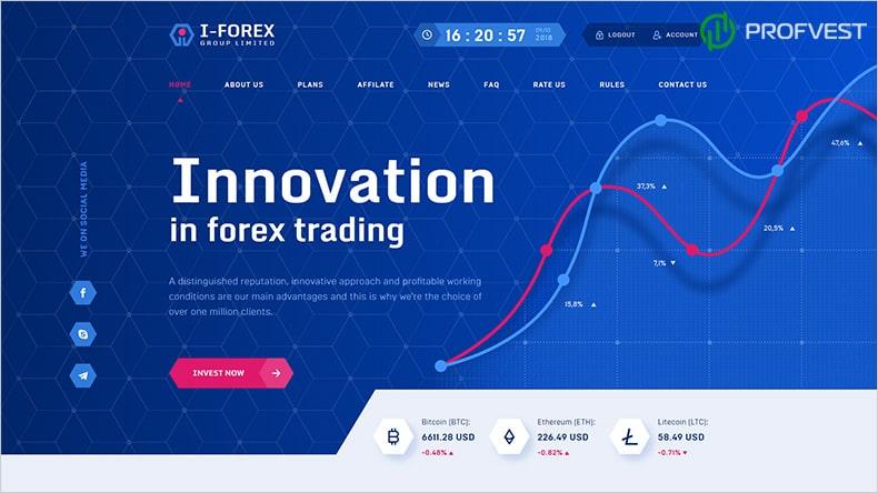 I-Forex Group Limited обзор и отзывы HYIP-проекта