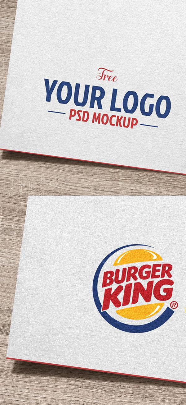 Download Free Mockup PSD 2018 - Free Logo Mockup Template