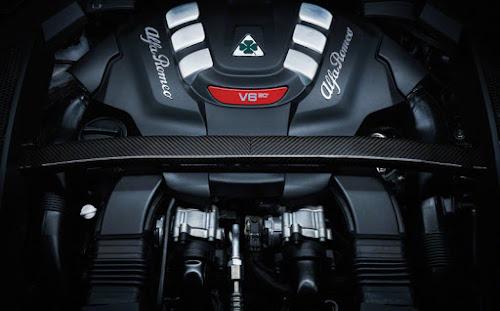 Alfa Romeo Stelvio QV Engine