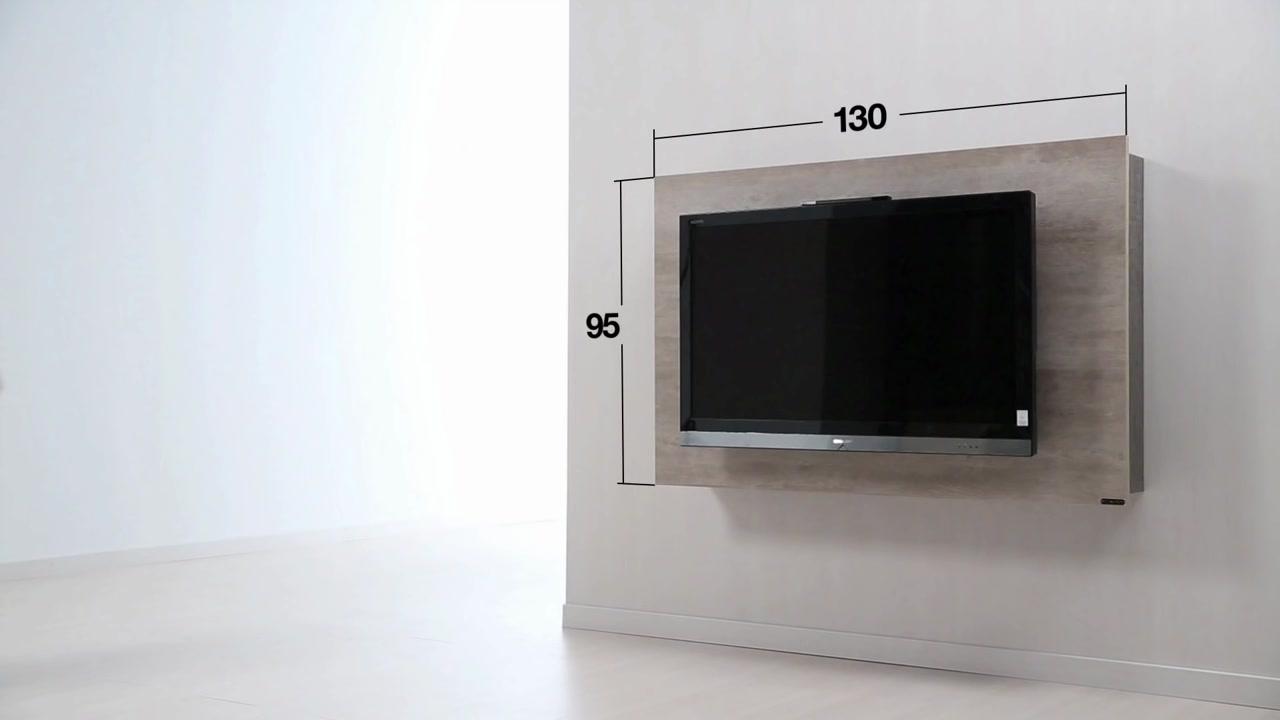 Diseño de muebles para Tv giratorio de melamina  Web del Bricolaje