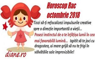 Horoscop Rac octombrie 2018