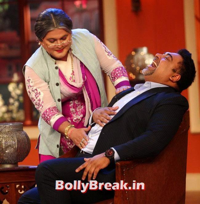 Ali Asgar and Ram Kapoor, Esha Gupta, Tamanna, Humshakals Cast on CNWK