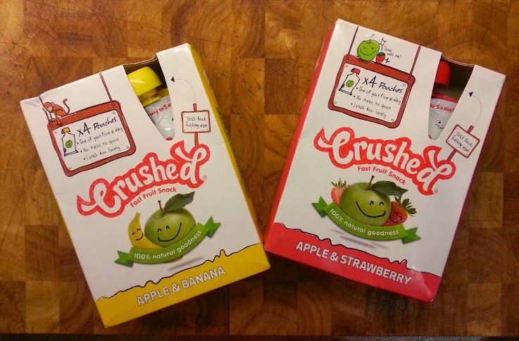 Crushed Fruit Snack for children smoothie kids