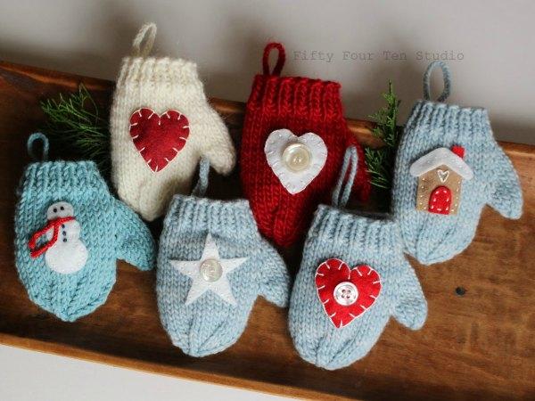 19 ideas de bricolaje para adornar tu casa en navidad trucos de bricolaje - Adornos de navidad hechos en casa ...