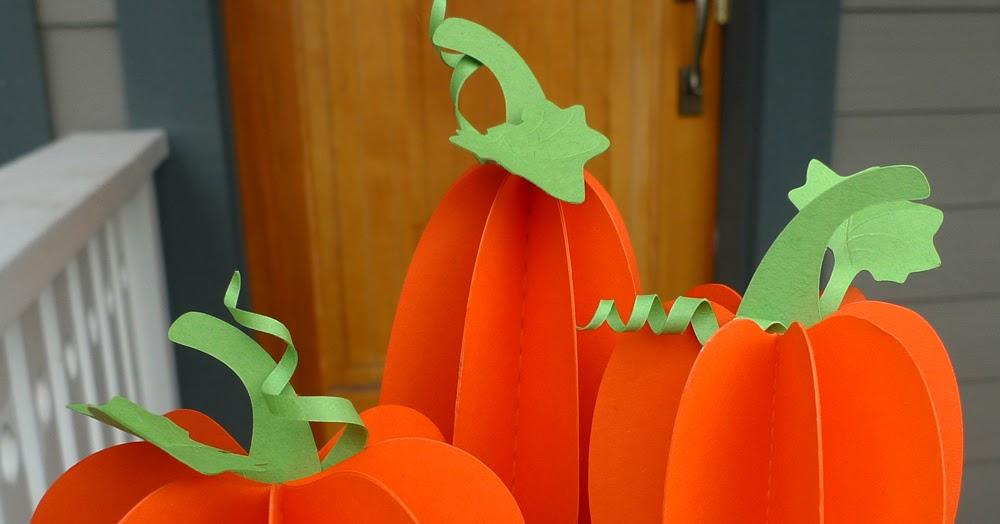 Paper Zen 3d Paper Pumpkins Free Patterns