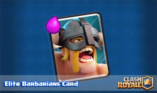 Ringkasan dan Strategi Elite Barbarians Card Clash Royale