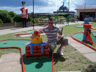 Crazy Golf at Merrivale Model Village in Great Yarmouth