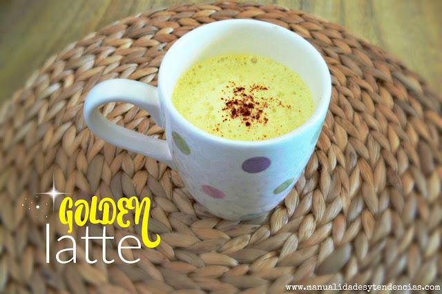 Cómo preparar un cúrcuma latte o golden latte