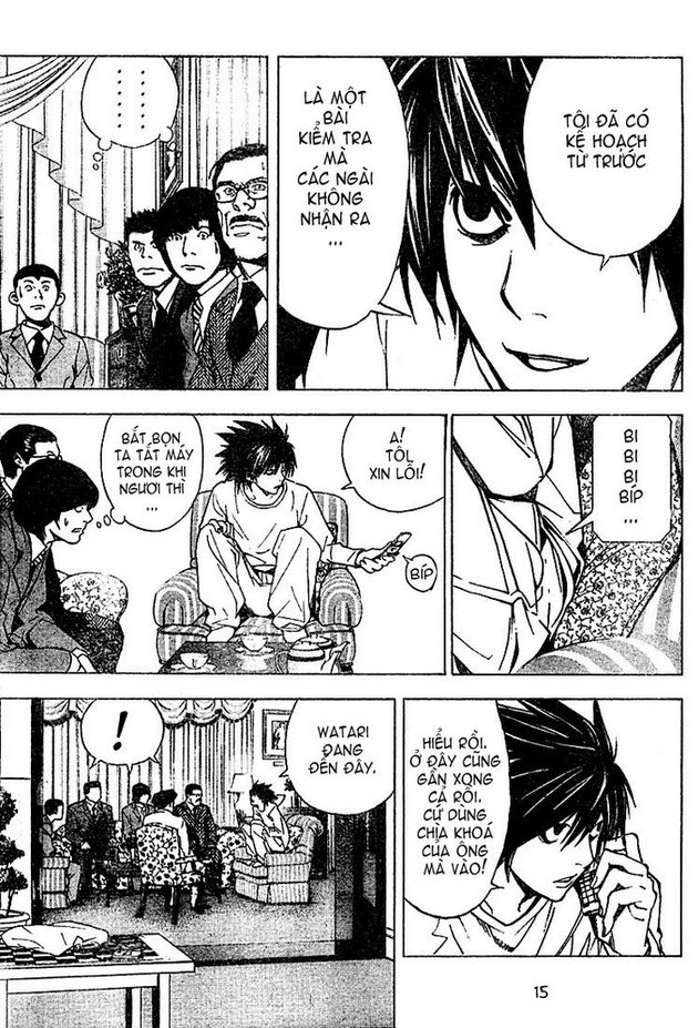 Death Note chapter 013 trang 15