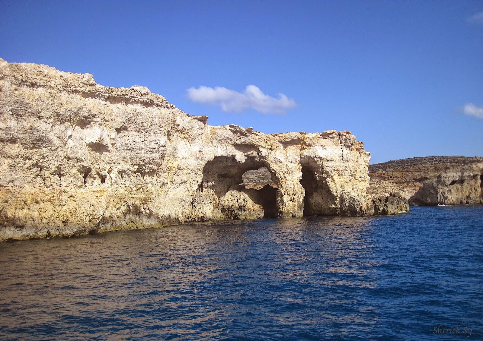 Comino Caves, Malta
