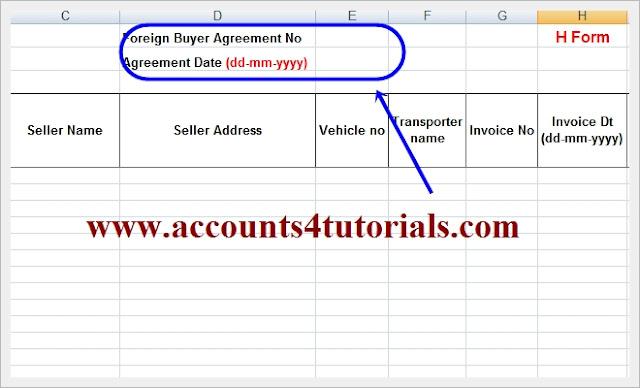 Service Tax Return: Format Of Service Tax Return In Excel Format