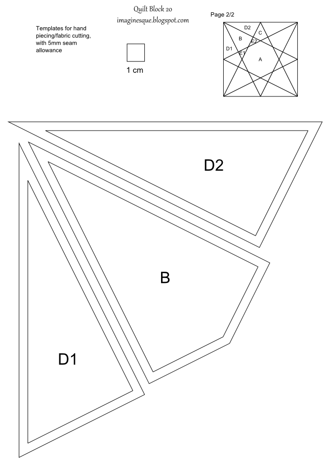 ... templates, english paper piecing, hand piecing and foundation paper