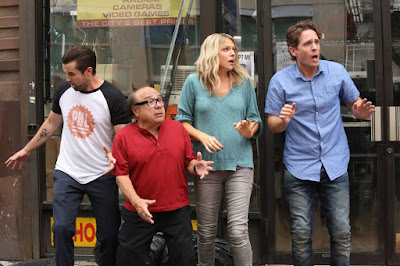Danny DeVito, Rob McElhenney, Kaitlin Olson and Glenn Howerton in It's Always Sunny in Philadelphia Season 12 (3)
