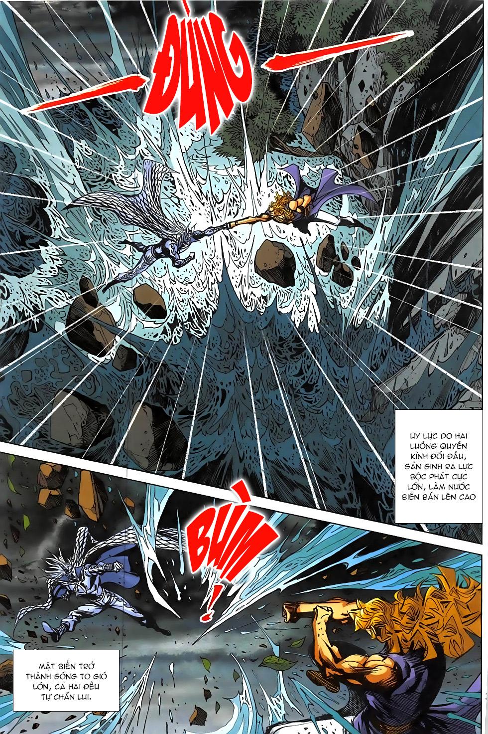 Hoàng Giả Chi Lộ chap 12.2 Trang 11 - Mangak.info