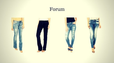 Calças Jeans Femininas da Forum