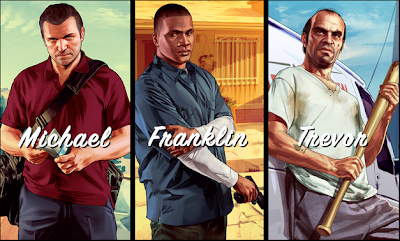 GTA V - Michael, Franklin e Trevor