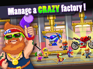Motor World Bike Factory Apk v1.216 Mod Unlimited Coins/Cash Terbaru