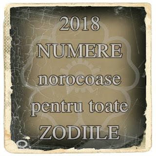 2018 NUMERE norocoase in dragoste si BANI pentru toate ZODIILE