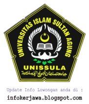 Lowongan Kerja UNISSULA Semarang