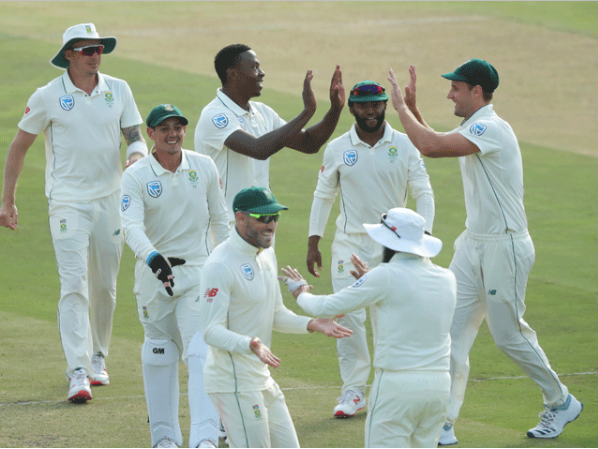 South Africa beat Pakistan in the Cape Town  win Test series
