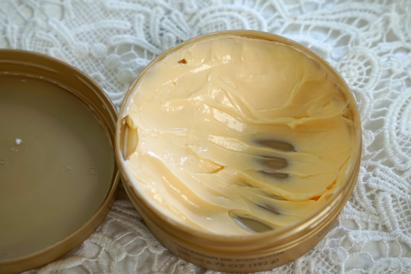 the body shop argan oil body butter