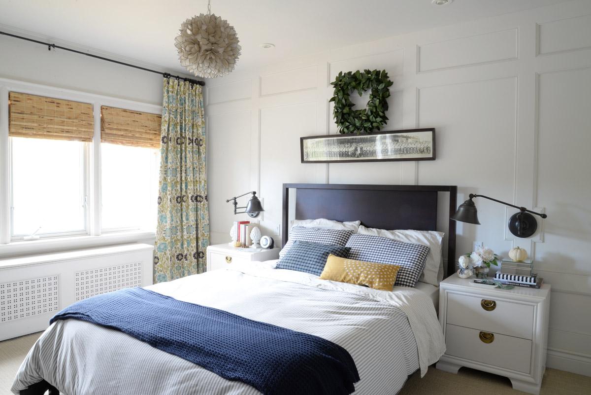 5 ways to add interest to bedroom walls | Ramblingrenovators.ca | wall treatment, bedroom decor ideas