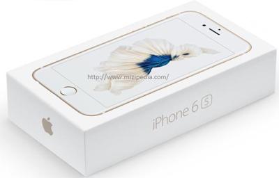 IPhone 6s dan Harga Spesifikasi Memori 16GB, 32GB, 64GB, 128GB