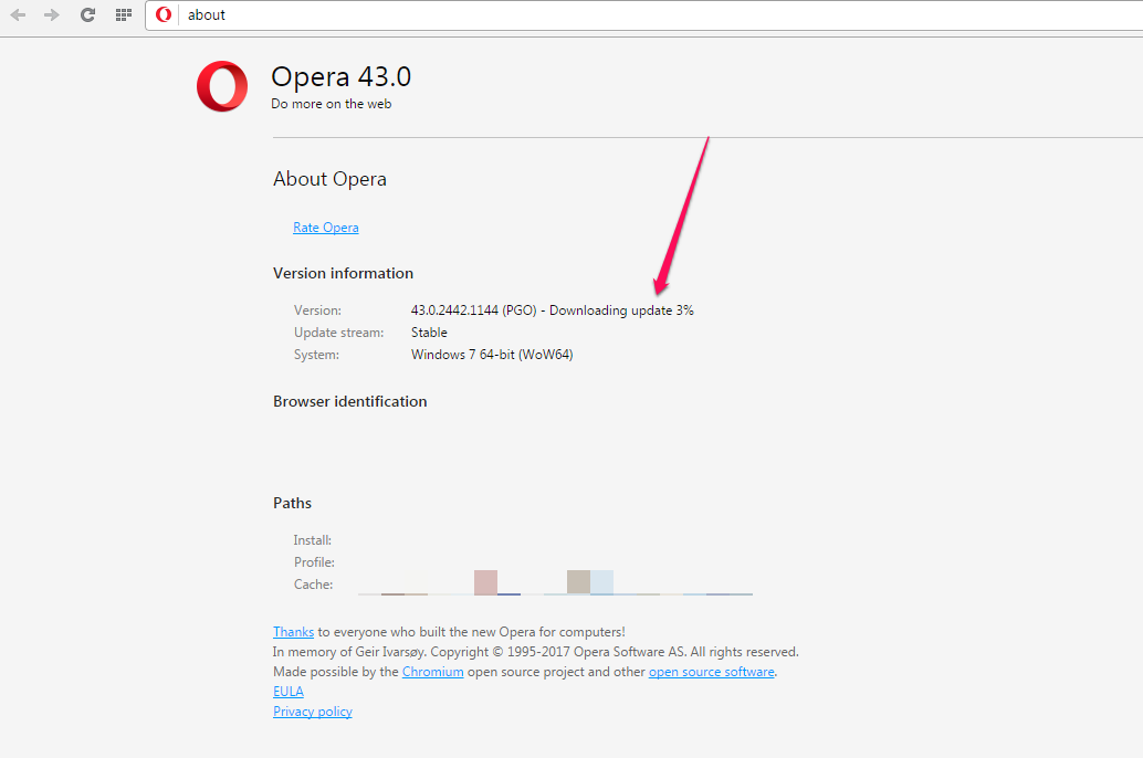 How To Update Opera Browser To Latest Version Manually