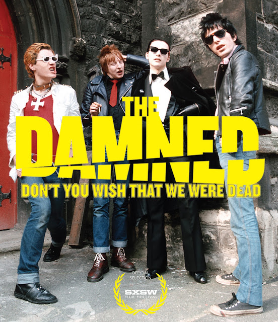The Damned - Don't You Wish That We Were Dead DVD cover