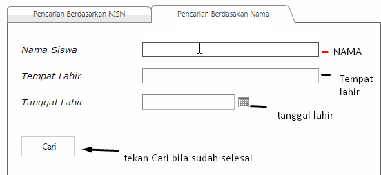 Cara Mencari NISN siswa lewat Internet