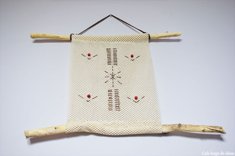 Cuadros decorativos handmade de estilo étnico