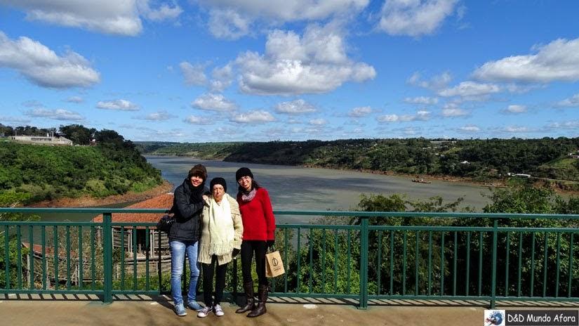 Marco das Três Fronteiras- Foz do Iguaçu - Brasil