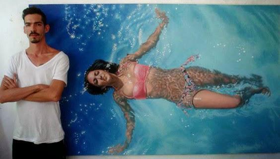 I Nuotatori di Gustavo Silva Nuñez