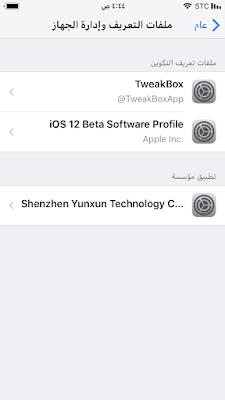كيفية الخروج من الإصدار التجريبي العام لنظام iOS